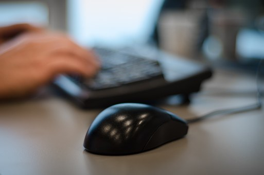 Mouse, Office, Hands, Bokeh, Business, Computer