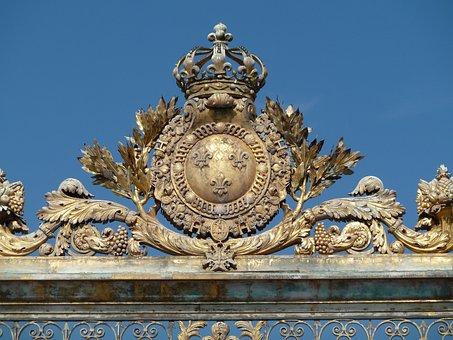 Versailles, Goal, Ornament, Input, Sun King, Gold