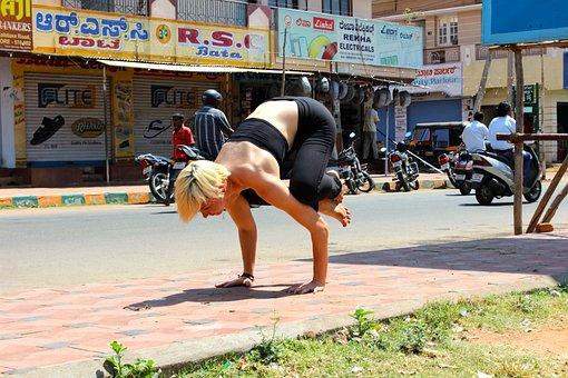 Yoga, Ashtanga, Bakasana, Fitness, Sport, Asana, Pose