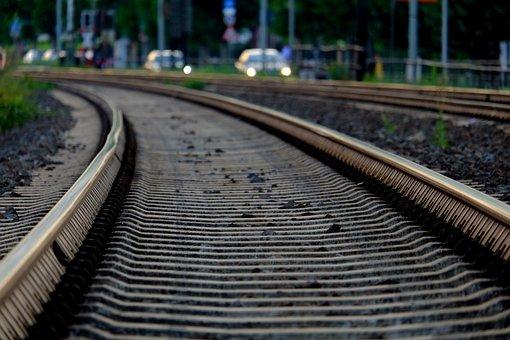 Rails, Railroad Tracks, Railway, Track, Rail Traffic
