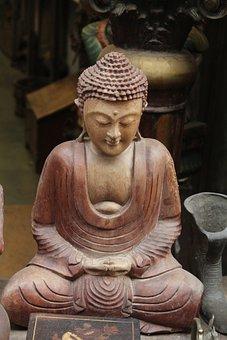Buddha, Idol, Buddhism, Religion, Statue, Peace
