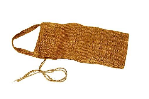 Bag, Handbag, Sack, String, Material, Rag