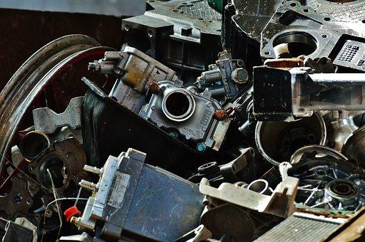 Iron, Scrap, Scrap Metal, Scrap Iron, Recycling, Metal