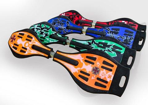 Skateboards, Colors, Cool, Sport, Skates, Play