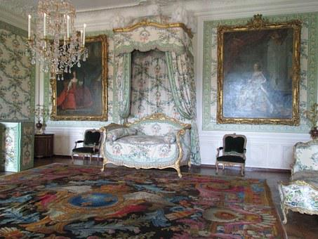 Versailles, Interior, Room, Vintage, Stake, Old Carpet