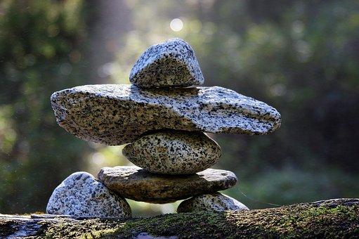 Rocks, Cairns, Pile, Balance, Stones, Granite, Zen