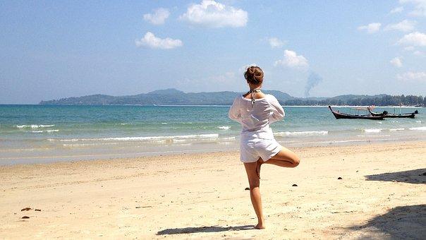 Balance, Yoga, Zen, Exercise, Meditation, Young