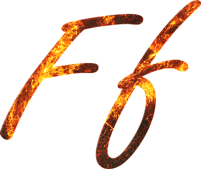 Letter, F, Fire, Embers, Lava, Font, Write, Type, Fonts