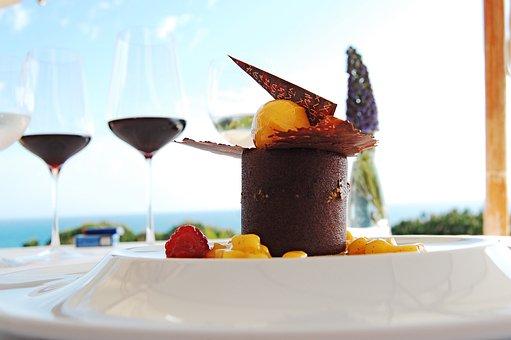 Gourmet, Algarve, Restaurant, Dessert