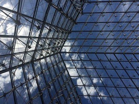 Paris, France, Louvre Museum, Architecture, City