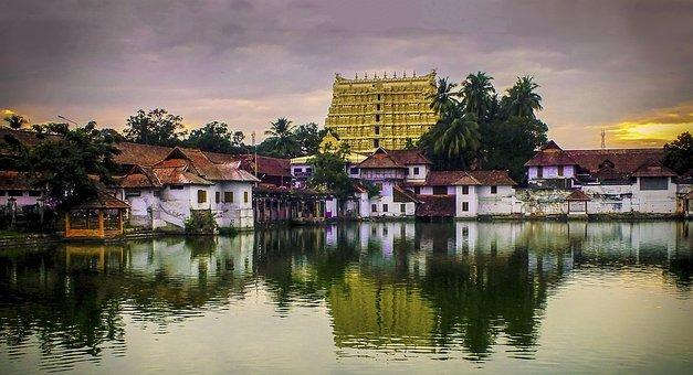 Trivandrum, Sree Padmanabha Swami Temple, Architecture