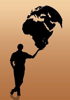Global, Globalization, Globe, Hands, Trade