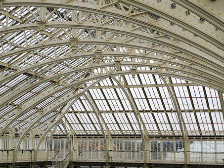 Iron, Roof, Glasshouse, Metal