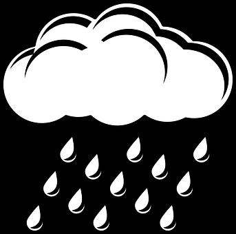 Raincloud, Rain, Cloud, Nature, Shower