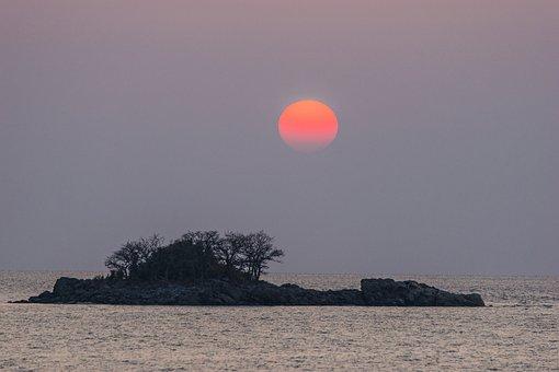 Nature, Island, Camel Joe, Sunset, Republic Of Korea