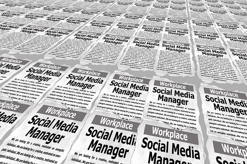 Social, Media, Manager, Ad, Job, Search, Labour Market