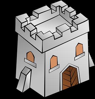 Tower, Building, Square, Castle