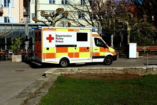Corona, Ambulance, Doctor In Emergency