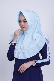 Muslim, Hijab, Islam, Woman, Islamic, Asian, Indonesia