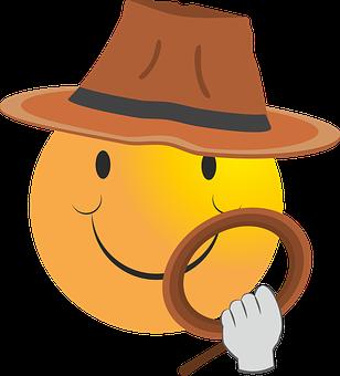 Smiley, Indiana Jones, Indy, Film, Adventure, Jones