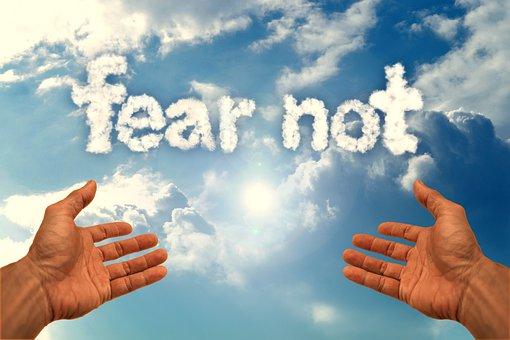 Faith, Prayer, Hands, Sky, Light, Do Not Be Afraid
