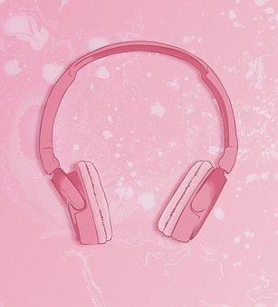 Headphones, Music, Audio, Listen, Listening, Girl