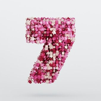 The Number Of, 7, Seven, Number, Figures