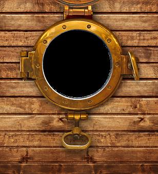 Porthole, Ship, Window, Glass, Seafaring, Photo Frame