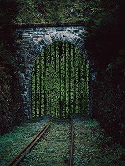 Tunnel, Railroad, Railroad Tunnel