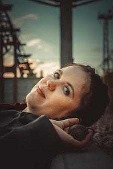 Girl, Bit, Model, Portrait, Watch