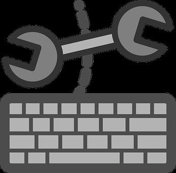 Keyboard, Fix, Configure, Spanner