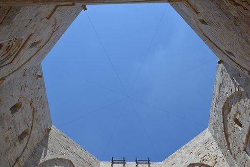 Castel Del Monte, Italy, Italia, Octagon, Castle