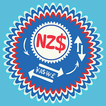 New Zealand Dollar, Newzealand Nzd, Nz Badge