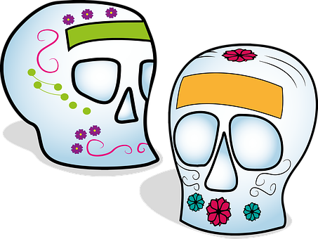 Skull, Sugar Skull, Calaverita Sugar