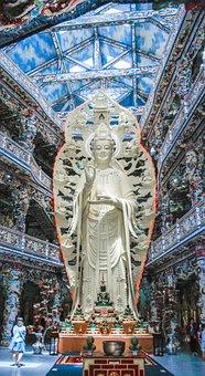 Buddha, Buddhism, Avalokiteśvara Bodhisattva, Statu