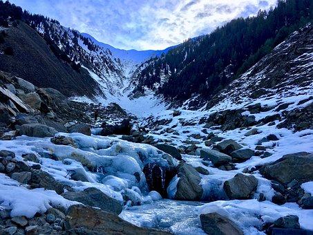 Landscape, Nature, Mountains, Snow, Scenic, White