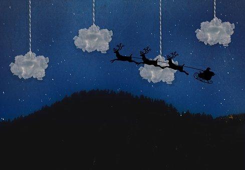 Christmas, Santa, Holidays, Xmas, Nicholas, Reindeer