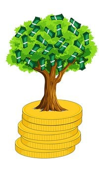 Money, Money Tree, Make Money, Investment, Banking
