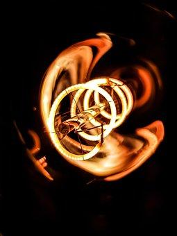 Edisonlight, Bulb, Orangecolour