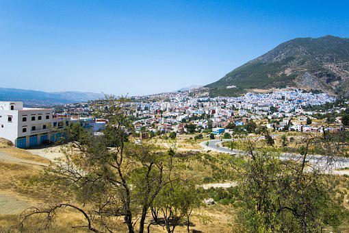 Chefchaouen, El Aayoune, Blue City, Morocco