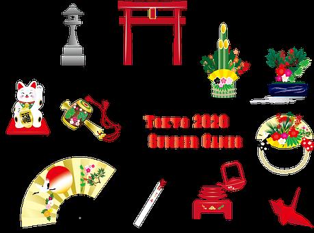 Japanese Icons, Tokyo 2020, Olympics, Tori Gate