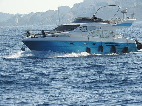 Boat, Fast Boat, Speed, Powerboat, Speedboat, Summer