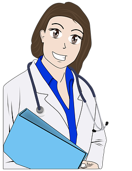 Illustration, Uniform, Doctor, Profession, Hospital