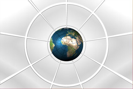 Globe, Earth, World, Center, Central, Middle, Target