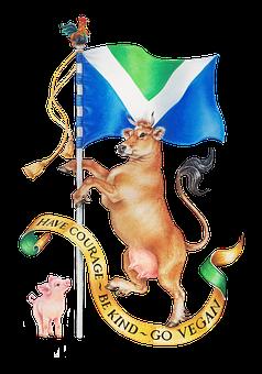 Vegan, Flag, Piglet, International, Plant, Roster