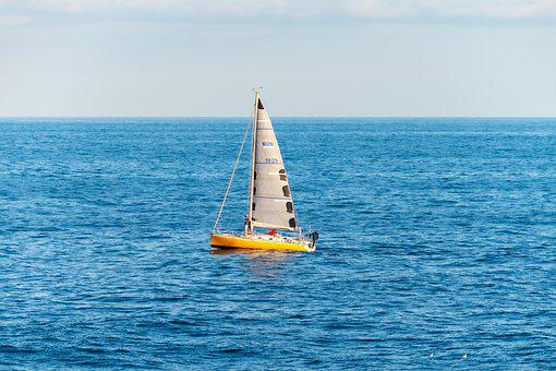 Yacht, Sea, Ship, Sailing, Boat