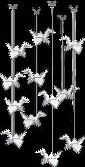 Wind Chimes, Decorative, Ornaments, Crystal, Birds