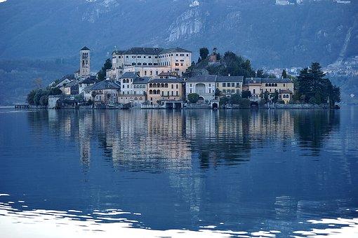 Italy, Island, Lake, Trip, Holiday