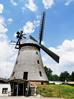 Dutch Wind Mill, Straupitz, Spreewald, Grain Mill