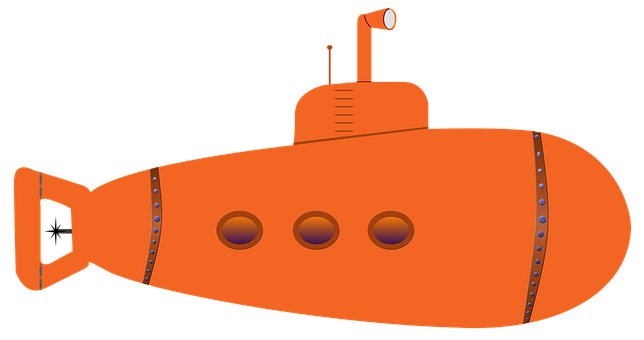 Submarine, Submersible, Water